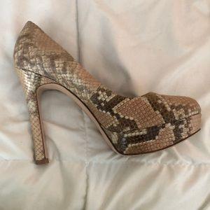 Joan and David heeled shoes